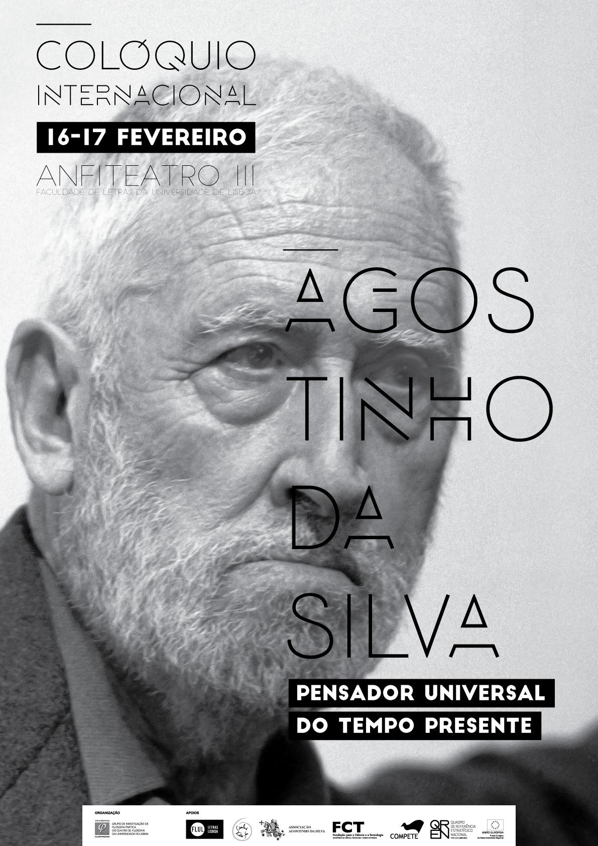 Coloquio Internacional Agostinho da Silva - Cartaz